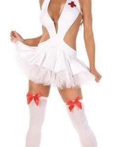 B23 Costum tematic asistenta medicala - Asistenta Medicala - Haine > Haine Femei > Costume Tematice > Asistenta Medicala