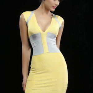 BAN14 Rochie Modelatoare Bandage - Rochii de club - Haine > Haine Femei > Rochii Femei  > Rochii de club