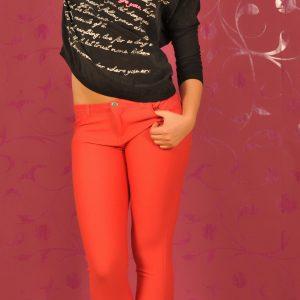 BsK142 Pantaloni Lungi Coral - Bershka - Haine > Brands > Bershka