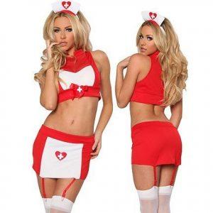 C229 Costum tematic asistenta sexi - Asistenta Medicala - Haine > Haine Femei > Costume Tematice > Asistenta Medicala