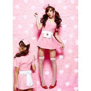 C325-5 Costum Halloween asistenta sexi - Asistenta Medicala - Haine > Haine Femei > Costume Tematice > Asistenta Medicala