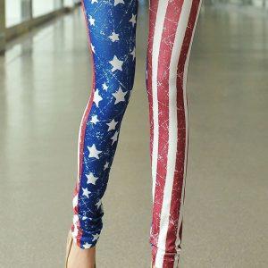 CL233 Colanti cu Model USA - Colanti - Haine > Haine Femei > Pantaloni Dama > Colanti