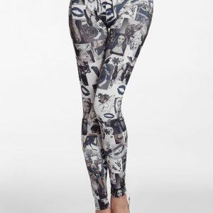 CL330-18 Colanti cu imprimeu fashion colorat - Colanti - Haine > Haine Femei > Pantaloni Dama > Colanti