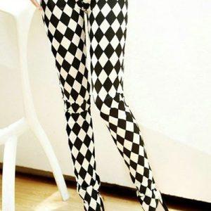 CL392-1122 Colanti dama cu model romburi - Colanti - Haine > Haine Femei > Pantaloni Dama > Colanti