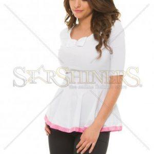 Camasa Artista Modest Ribbon Pink - Camasi -