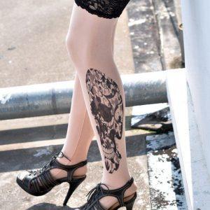 D122 Ciorapi cu tatuaj - Ciorapi cu tatuaj - Haine > Haine Femei > Ciorapi si manusi > Ciorapi cu tatuaj