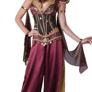 E319 Costum Halloween oriental cu banuti - Oriental - Haine > Haine Femei > Costume Tematice > Oriental
