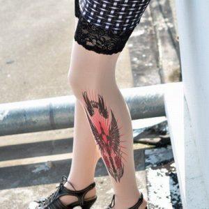G120 Ciorapi cu tatuaj - Ciorapi cu tatuaj - Haine > Haine Femei > Ciorapi si manusi > Ciorapi cu tatuaj