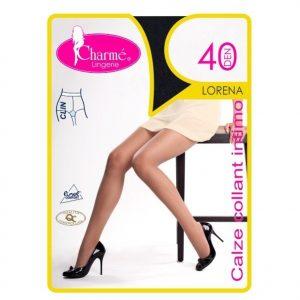 GAT14-159 Ciorapi Charme Lorena cu clin si varf intarit - Ciorapi Charme - Haine > Haine Femei > Ciorapi si manusi > Ciorapi Charme