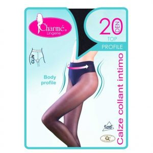 GAT6-1 Ciorapi Top Profile modelator cu efect de corset - Ciorapi Charme - Haine > Haine Femei > Ciorapi si manusi > Ciorapi Charme