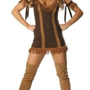 J42 Costum tematic Pocahontas - Cowboy - Indian - Haine > Haine Femei > Costume Tematice > Cowboy - Indian