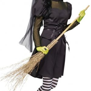 K144 Costum tematic vrajitoare rea - Vrajitoare - Vampir - Haine > Haine Femei > Costume Tematice > Vrajitoare - Vampir