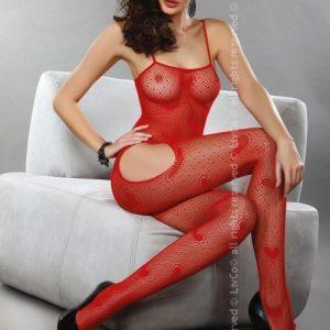 Livia Corsetti 297-3 Lenjerie catsuit cu decupaj pe coapse - Bodystockings
