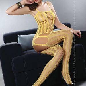 Livia Corsetti 64-999 Bodystocking cu portjartier atasat - Bodystockings