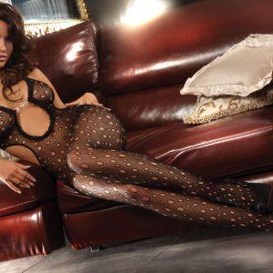 Livia Corsetti 78 Bodystocking sexi cu decupaje laterale - Bodystockings