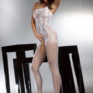 Livia Corsetti 93-2 Lenjerie catsuit cu model si decupaje - Bodystockings