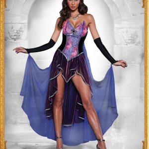 M313 Costum Halloween vrajitoare - Vrajitoare - Vampir - Haine > Haine Femei > Costume Tematice > Vrajitoare - Vampir
