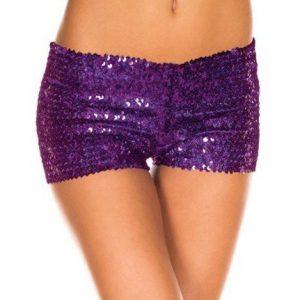 PSC11-10 Pantaloni scurti cu paiete - Pantaloni Scurti - Haine > Haine Femei > Pantaloni Dama > Pantaloni Scurti