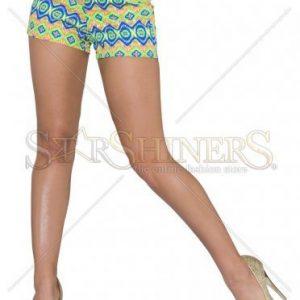 Pantaloni Scurti Abstract Graphic Green - Pantaloni scurti -
