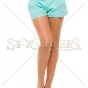 Pantaloni Scurti PrettyGirl Holey Turquoise - Pantaloni scurti -