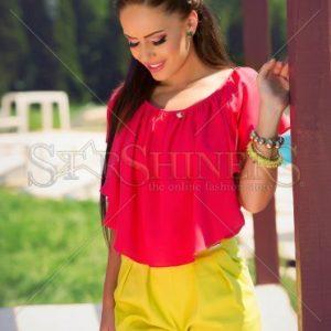 Pantaloni Scurti PrettyGirl Touchy Yellow - Pantaloni scurti -