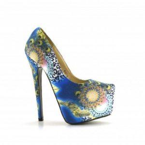 Pantofi Antonia Albastri - Pantofi - Pantofi