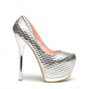 Pantofi Balada Argintii - Pantofi - Pantofi