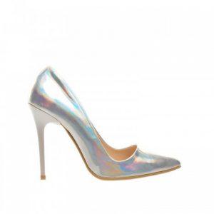 Pantofi Cleoma Argintii 2 - Pantofi - Pantofi