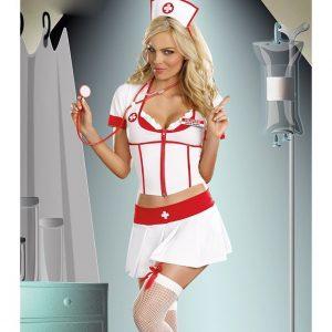 Q247 Costum tematic asistenta - Asistenta Medicala - Haine > Haine Femei > Costume Tematice > Asistenta Medicala