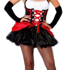 Q311 Costum Halloween vampirita sexy - Vrajitoare - Vampir - Haine > Haine Femei > Costume Tematice > Vrajitoare - Vampir