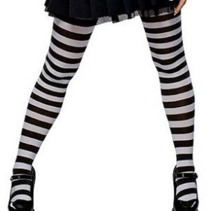 STK111-2 Ciorapi treisfert cu dungi - model de vrajitoare - Ciorapi dama - Haine > Haine Femei > Ciorapi si manusi > Ciorapi dama