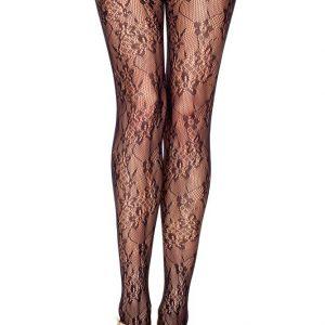 STK135-1 Ciorapi sexy din plasa cu model floral - Ciorapi dama - Haine > Haine Femei > Ciorapi si manusi > Ciorapi dama