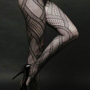 STK138-1 Ciorapi sexy din plasa cu model - Ciorapi dama - Haine > Haine Femei > Ciorapi si manusi > Ciorapi dama