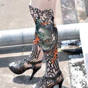 STK14 Ciorapi cu Tatuaj - Ciorapi cu tatuaj - Haine > Haine Femei > Ciorapi si manusi > Ciorapi cu tatuaj