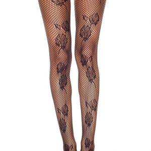STK147-1 Ciorapi sexi cu model floral - Ciorapi dama - Haine > Haine Femei > Ciorapi si manusi > Ciorapi dama