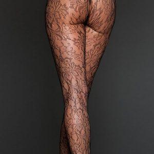 STK150-1 Ciorapi sexy cu model floral - Ciorapi dama - Haine > Haine Femei > Ciorapi si manusi > Ciorapi dama