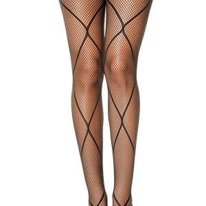 STK158-1 Ciorapi sexy din plasa cu dungi - Ciorapi dama - Haine > Haine Femei > Ciorapi si manusi > Ciorapi dama