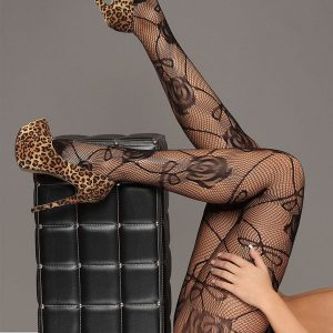 STK168-1 Ciorapi sexy din plasa