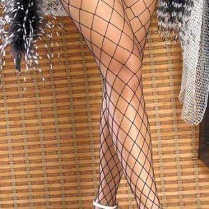 STK85-1 Accesorii ciorapi din plasa cu ochiuri mari - Ciorapi dama - Haine > Haine Femei > Ciorapi si manusi > Ciorapi dama
