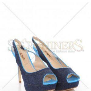 Sandale Denim Look Blue - Incaltaminte -