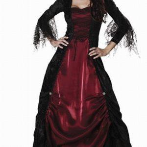 W134 Costum Halloween vampirita - Vrajitoare - Vampir - Haine > Haine Femei > Costume Tematice > Vrajitoare - Vampir