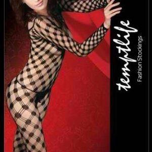 W142- Lenjerie Body Plasa Catsuit - Bodystockings
