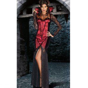 W300 Costum Halloween Vampirita sexi - Vrajitoare - Vampir - Haine > Haine Femei > Costume Tematice > Vrajitoare - Vampir