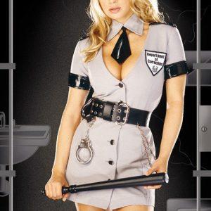 Y137 Costum Halloween politista - Politista - Gangster - Haine > Haine Femei > Costume Tematice > Politista - Gangster