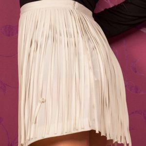 Zr02 Fusta cu Franjuri - Zara - Haine > Brands > Zara