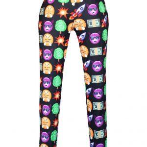 CL408 Pantaloni lungi Emoji Jogger - Pantaloni Lungi - Haine > Haine Femei > Pantaloni Dama > Pantaloni Lungi