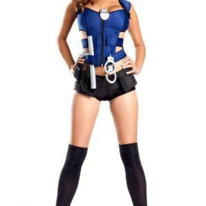 G326 Costum Halloween politista sexy - Politista - Gangster - Haine > Haine Femei > Costume Tematice > Politista - Gangster