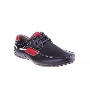 Pantofi barbati Aurelius black red - Home > Barbati -