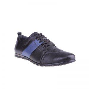 Pantofi barbati Ian black blue - Home > Barbati -