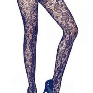 STK189-1 Ciorapi sexy cu model floral - Ciorapi dama - Haine > Haine Femei > Ciorapi si manusi > Ciorapi dama